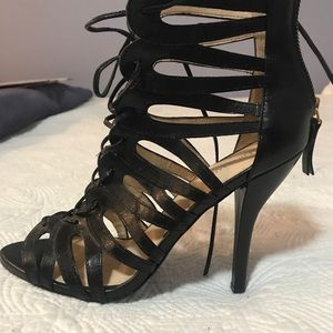 Lace Up Gladiator Sandal Pumps